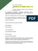 Codigo Penal Sinaloa