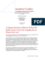 ALEXANDER Generative Codes 2005