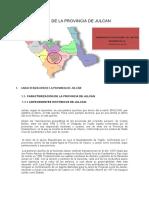 Diagnòstico de La Provincia de Julcan