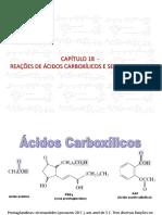 Capitulo 18 Acidos e Derivados