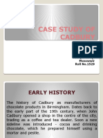 Case Study of Cadbury