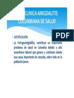 Presentacion Guia Clinica Amigdalitis 2015