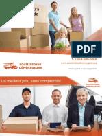 Comparer 5 soumissions de déménageurs à Montréal