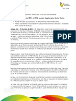 05 07 2011 - El gobernador Javier Duarte de Ochoa en Conferencia de Prensa.