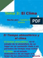 Tema 3 Los Climas