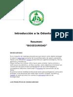 Bioseguridad Odontología