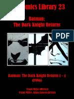 Batman the Dark Knight Returns 1986