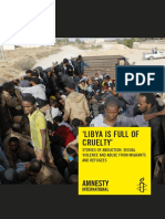 Libya is Full of Cruelty