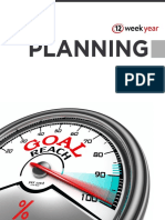 12 Week Year Planning