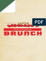 Little Woodrow's - Dallas brunch menu