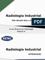Radiologia Industrial - Aula i