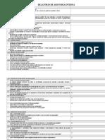 Novo Check List - Versão 2008