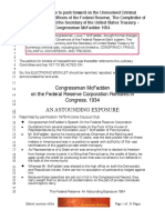Congressman McFadden Articles of Impeachment