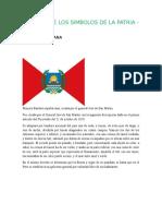 informe sobre Peru y banderas