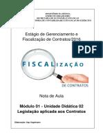 Legislação Aplicada Aos Contratos