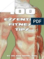 100 Essential Fitness Tips