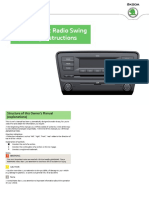 A7 Octavia Swing InfotainmentRadio (1)