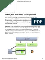 SonarQube_ Instalación y Configuración1