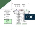 Hoja Excel Para El Proceso de Interacion Con El Metodo Cross