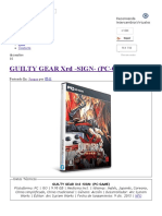 Guilty Gear Xrd -Sign- (Pc-game) - Intercambiosvirtuales