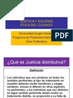 Justicia, Equidad y Cuidado
