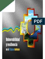 Atlas de Vulnerabilidad y Resiliencia en el Altiplano Boliviano