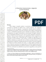 Cidades, fronteiras transnacionais e migração na Pan-Amazônia