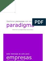 Nuevo Paradigma en la Gestión de  Personas