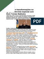 +90 anos de transformações na Igreja. Entrevista especial com Dom Tomás Balduíno.pdf