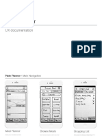 UX Doc - Plate Planner