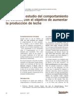 BUBALINOCULTURA - Etología Un estudio del comportamiento de búfalas con el objetivo de aumentar la  producción de leche.pdf