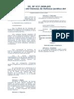 Reglamento Del Decreto Legislativo