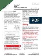 Toro Operators Manual