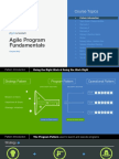 Agile Program Fundamentals