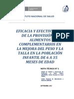 Nota Técnica 2012- 5