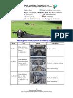 Catalog of Dairy Farm Milking and Dairy Equipments(HAILIAN--CHUANGPU)