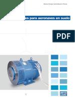WEG Generadores Para Aeronaves en Suelo 651 Catalogo Espanol