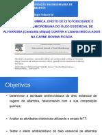 Apresentação Artigo Microbiologia Industrial