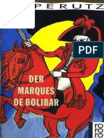 [Leo Perutz] the Marquis of Bolibar of Bolibar