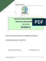 Instrucciones Tecnicas y Planos Para Redes de Abastecimiento