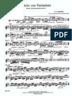 Aria Con Variazioni Handel