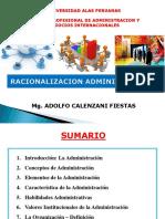 1.- La Administración y Las Organizaciones