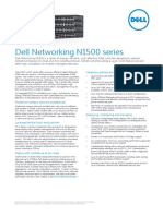 Dell Networking N1500 Series SpecSheet