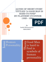 short story a good man is hard to find analysis