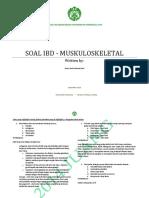 Soal IBD - Muskuloskeletal 2014