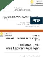 Kul-Umum Audit 2 SPR 2400 - 2410 -HT230516