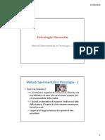 05 - Metodi Sperimentali in Psicologia 1