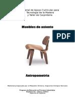 Muebles de Asiento-Antropometria