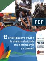12Estrategias Prevenir Violencia Juvenil