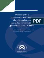 2434_PrincIBA CONDUCTAS PARA LA COMISIÓN DE UN DELITOipios Internacionales de Conducta Para La Profesion Juridica de La IBA